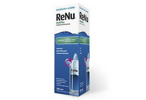 Раствор для МКЛ Renu Multi Plus 360ml